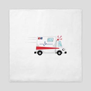 Fast Ambulance Queen Duvet