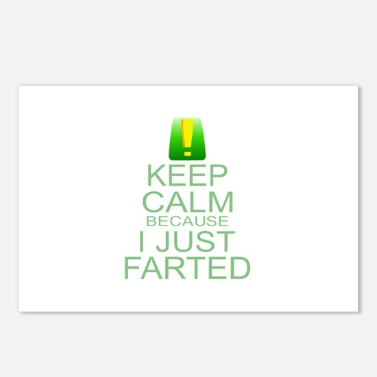 Keep Calm I Farted Postcards (Package of 8)