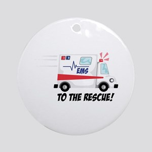 To The Rescue! Ornament (Round)