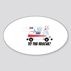 To The Rescue! Sticker