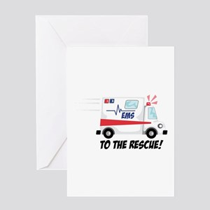 To The Rescue! Greeting Cards