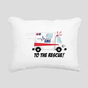 To The Rescue! Rectangular Canvas Pillow