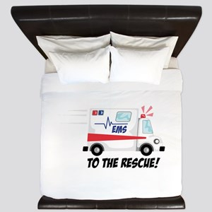To The Rescue! King Duvet