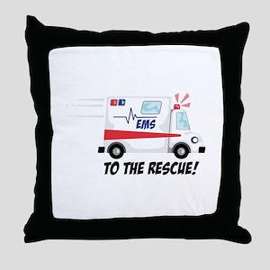 To The Rescue! Throw Pillow