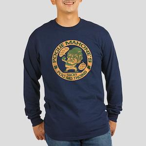 Pogue's Lucky Thoins Long Sleeve Dark T-Shirt
