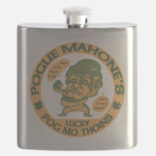 Pogue's Lucky Thoins Flask