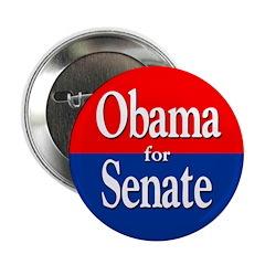 Barack Obama for Senate Button