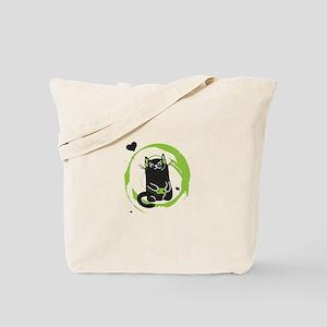 Gamer Cat Tote Bag