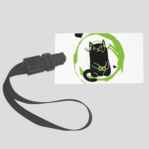 Gamer Cat Luggage Tag
