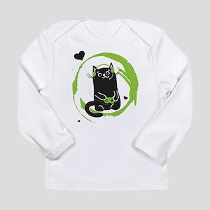 Gamer Cat Long Sleeve T-Shirt