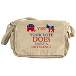 Your Vote Counts Messenger Bag