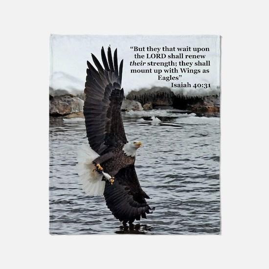 Wide Winged Wonder Throw Blanket