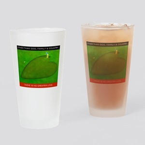 LOVE OF GOLF Drinking Glass