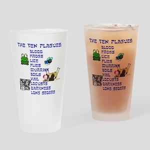 ten-plagues Drinking Glass