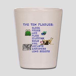 ten-plagues Shot Glass