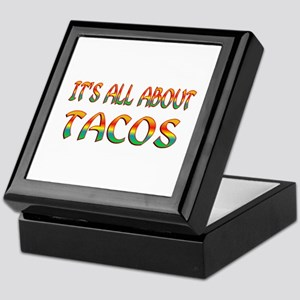 All About Tacos Keepsake Box