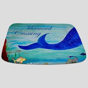 Mermaid Crossing Bathmat