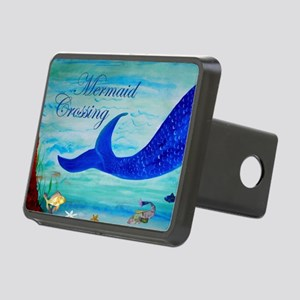 Mermaid Crossing Rectangular Hitch Cover