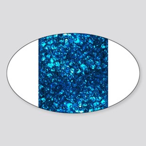 Blue Liquid Pearls Sticker