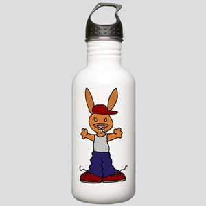 Hip Hop Rabbit Stainless Water Bottle 1.0L