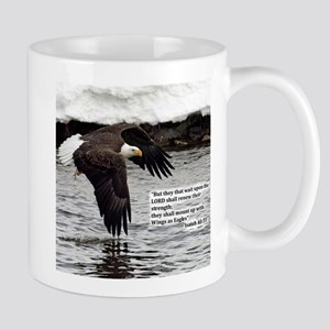 Wings Of Eagles With Isaiah 40:31 Mug