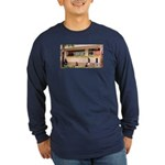 More Cell Phone Charges Long Sleeve Dark T-Shirt