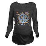 peace_n_buts2 Long Sleeve Maternity T-Shirt