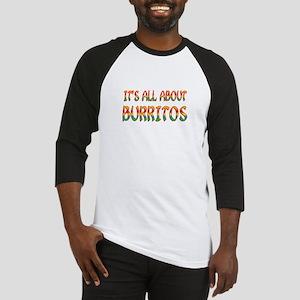 All About Burritos Baseball Jersey