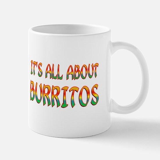 All About Burritos Mug
