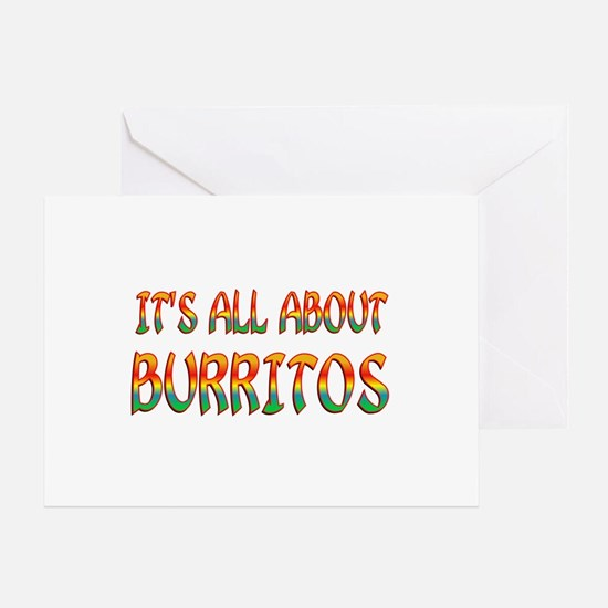 All About Burritos Greeting Card