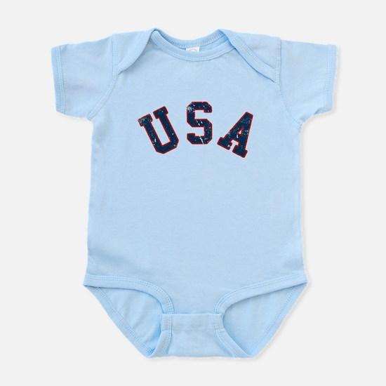 Vintage Team USA Infant Bodysuit