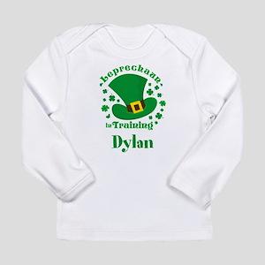 Personalized Leprechaun Long Sleeve Infant T-Shirt
