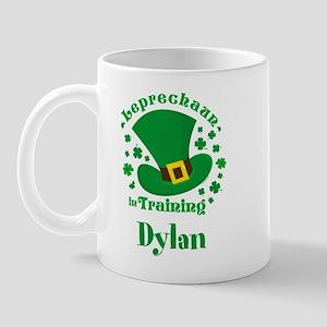 Personalized Leprechaun In Training Mug