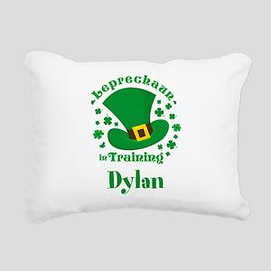 Personalized Leprechaun Rectangular Canvas Pillow