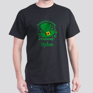 Personalized Leprechaun In Training Dark T-Shirt