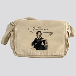 Charlotte Bronte Messenger Bag