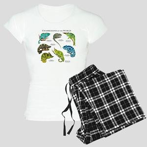 Chameleons of the World Women's Light Pajamas