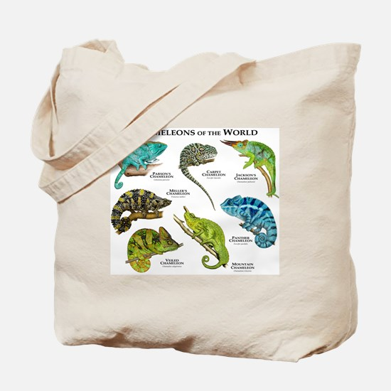 Chameleons of the World Tote Bag