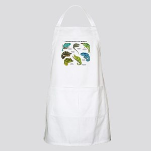 Chameleons of the World Apron