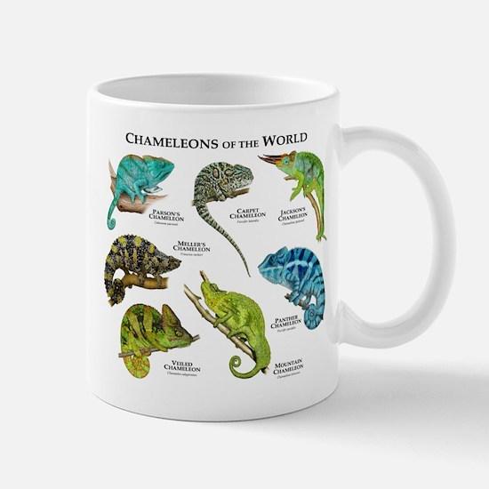 Chameleons of the World Mug