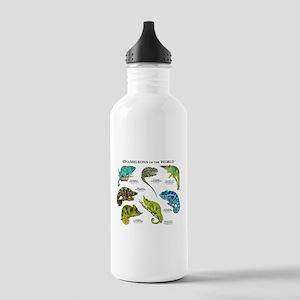 Chameleons of the Worl Stainless Water Bottle 1.0L