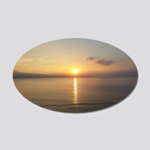 Maui Sunset from the Lanai Wall Decal