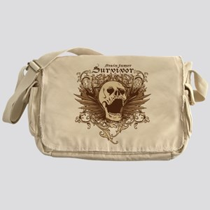 Brain Tumor Survivor Messenger Bag