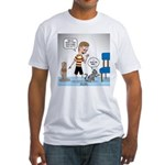 Tinkles Scratching Post Fitted T-Shirt