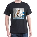 Tinkles Scratching Post Dark T-Shirt