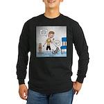 Tinkles Scratching Post Long Sleeve Dark T-Shirt