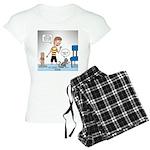 Tinkles Scratching Post Women's Light Pajamas