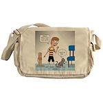 Tinkles Scratching Post Messenger Bag