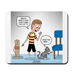 Tinkles Scratching Post Mousepad