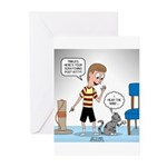 Tinkles Scratching Post Greeting Cards (Pk of 10)